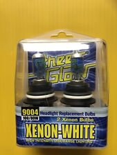 Street Glow 9004, Xenon White Replacement Bulbs 100/80W Pair - New