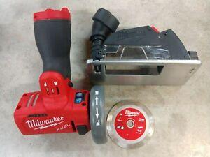 "Milwaukee M12 FUEL 3"" Cutoff Tool w/ Blade Model# 2522-20  Bare Tool"