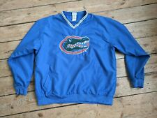 Blue Vintage windbreaker Sweatshirt Florida Gators Large Mens American Football