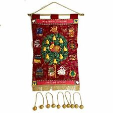 Beautiful Handmade Christmas Wall Hanging 12 Days Of Christmas