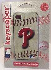 Philadelphia Phillies iPhone 4 & 4S Cell Phone Hardshell Case MLB Baseball NEW