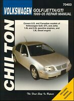 VW Golf, Jetta, GTI Repair Manual 1999-2005