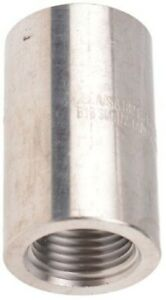 RS Pro CIRCULAR STRAIGHT COUPLER Female, Stainless Steel- 1/2″x1/2″ Or 3/4″x3/4″