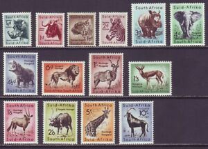 South Africa 1954 SC 200-213 MH Set Animal