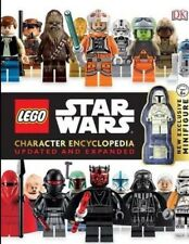 LEGO Star Wars Character Encyclopedia Updated & Minifigure Brand New