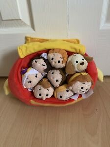 Disney Store Beauty And The Beast Tsum Tsum
