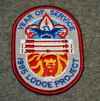 OA POCKET PATCH…YEAR OF SERVICE - 1995 LODGE PROJECT