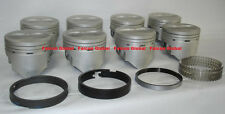 Ford 360/390 FE Sealed Power Hypereutectic Flat Top Pistons+MOLY Rings +.060""