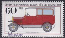 Specimen, Berlin Sc9NB189 Antique Car, Automobile, Adler Limousine (1913)