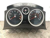 2007 VAUXHALL ASTRA H Mk5 Speedometer Instrument Cluster 13225974