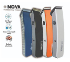 NOVA NS-216 PROFESSIONAL RECHARGEABLE HAIR TRIMMER CUTTER SHAVER CLIPPER
