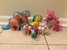 Vintage G1 My Little Pony Lot of 7