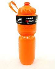 2017 Polar ZipStream 24oz Insulated Bike/Cycling Sport Water Bottle Orange
