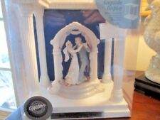 New In Box Wilton Wedding Cake topper with Display Stand Engraveable