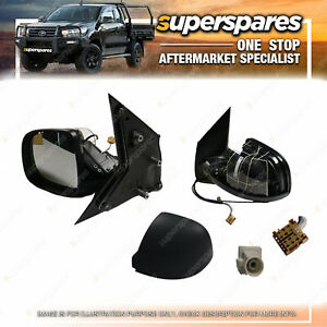 Left E-Door Mirror for Volkswagen Transporter T6 With Heated Antenna AM/FM 5 pin