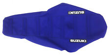 "New ""Suzuki"" Blue Ribbed Seat cover DR-Z400E DR-Z400S DR-Z400SM 2000-2014"