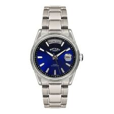 Rotary GB02660-05 Mens Timepieces Havana Blue Silver Watch RRP £155