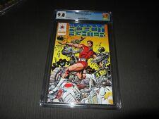 Magnus Robot Fighter #0  CGC 9.8 (Valiant 1992)