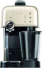 Lavazza 10080388 Italian Fantasia Espresso Coffee Maker Machine, Cream White
