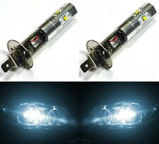 LED 30W H1 White 6000K Two Bulbs Fog Light Replacement Plug Play Lamp Fit