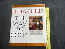 """Previously owned """"The Way to Cook"""" a cookbook by Julia Child recipes kitchen eat"""