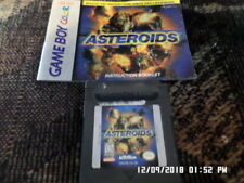 Asteroids (Gameboy Color Game) w/ Instruction Manual
