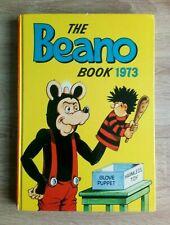 Beano Annual 1973 Vintage U.K Comic Hardback Book Featuring Dennis The Menace