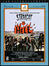STRAIGHT TO HELL__Orig. 1987 Trade AD_screening promo_JOE STRUMMER_COURTNEY LOVE