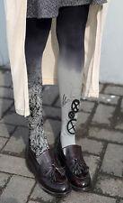 Señoras Steampunk mecánico COGS gradiente de diseño Calzas Pantimedias tamaño regular