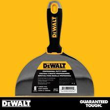 "DEWALT Putty Knife 8"" Carbon Steel Flexible Drywall Joint Paint Scraper"
