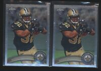 Lot (x2) 2011 Topps Chrome MARK INGRAM Rookie Card RC #50 Saints