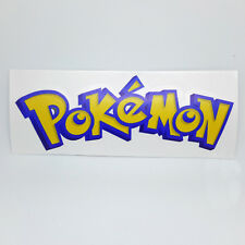 Pokemon Logo Sticker Vinyl Decal - NO Nintendo GBA 3DS DS Wii Android Video Game