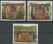 Timbres Echecs Paraguay PA900/2 o lot 28791
