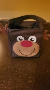 THIRTY-ONE REINDEER Littles Carry All Caddy Tote Transport Bag Carry Clean f1