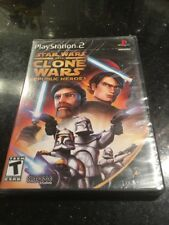 Star Wars The Clone Wars Republic Heroes Playstation 2 PS2 New Sealed