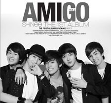 SHINEE [AMIGO] 1st Repackage Album CD+PhotoBook K-POP SEALED