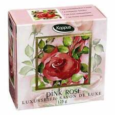 KAPPUS Pink Rose Bar of Soap -1 ct - FREE SHIPPING