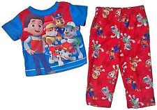 Nickelodeon Paw Patrol Toddler Boys 2 Piece Pajama Set Ryder Marshall Rubble