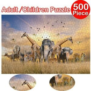 500 Pieces Jigsaw Puzzle for Adults Kids Gift - Educational Toy - Animals Home