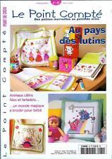 oop French cross stitch magazine Le Point Compte Bebe No.32 point de croix