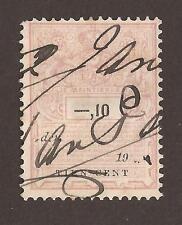 Netherlands Revenue stamp (a)