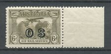 AUSTRALIA 1931 - 6d BROWN AIR MAIL SERVICE - OVERPRINTED O S - MNH         Hk36b