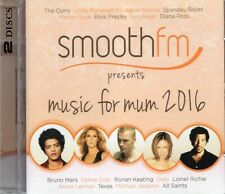 SMOOTH FM Music For Mum 2CD Simply Red/Chris De Burgh/George Michael/The Corrs