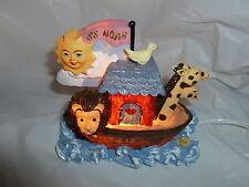 Kid Room Noah's Ark Whimsical Night Light New in Box Lot Z-792