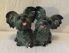 Goebel West Germany Skye Terriers Figurine Tongues Sticking Out 30-505-08