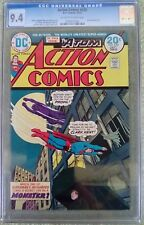 Action Comics #430 (Dec 1973, DC) CGC 9.4 NM (ATOM back-up story)