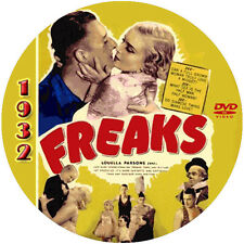 "Freaks (1932) Horror and Drama NR CULT ""B"" Movie DVD"