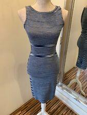 Blue Pattern Karen Millen Dress Size 1