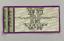 Cheap Trick Dovetail Joint Rare Concert Ticket Stub Roseville, Ca 06/10/1999