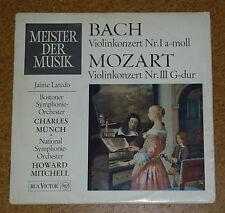 LP Bach Mozart Jaime Laredo Violin Concerto RCA SMR 8001
